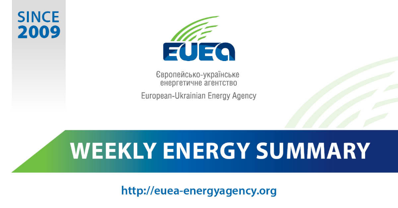 Weekly energy news